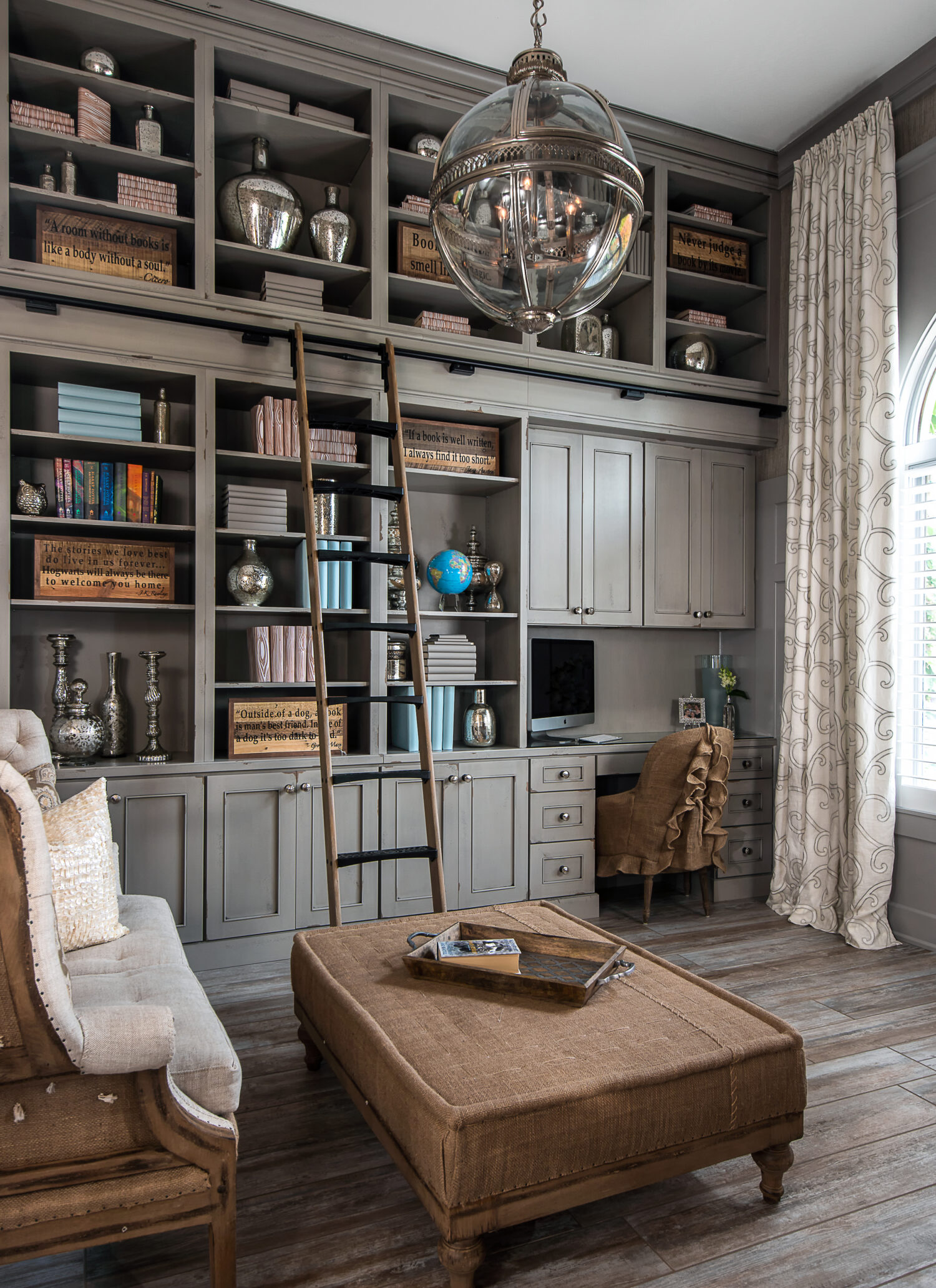 Home Library Cabinets